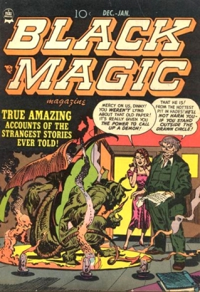 Black Magic Vol. 2, No. 2 (December 1951-January 1952)